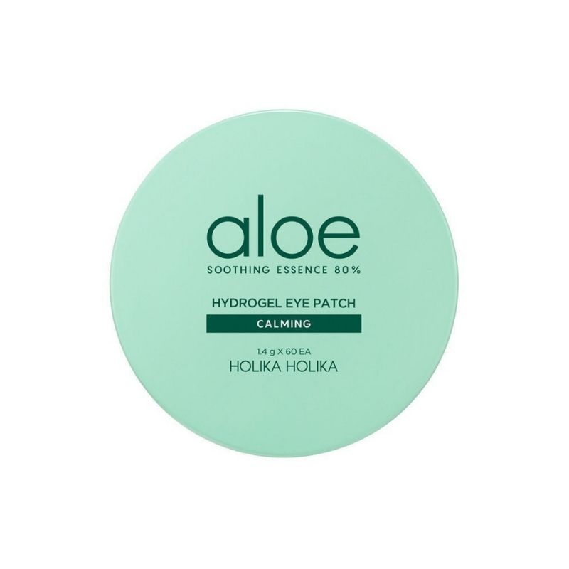 Aloe Soothing Essence 80% Hydrogel Eye Patch Calming
